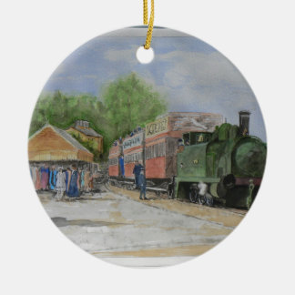 The World's first railway Ceramic Ornament