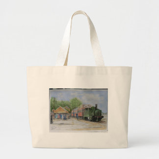 The World's first railway Large Tote Bag
