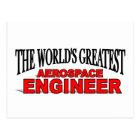 The World's Greatest Aerospace Engineer Postcard