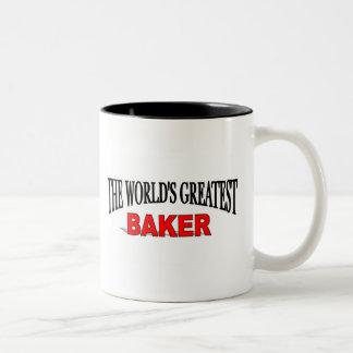 The World's Greatest Baker Two-Tone Coffee Mug
