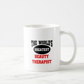 The world's greatest beauty therapist coffee mug