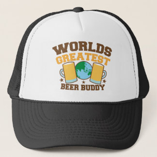 The worlds greatest BEER BUDDY Trucker Hat
