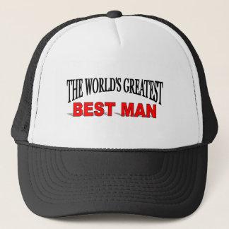 The World's Greatest Best Man Trucker Hat