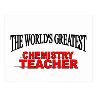 The World's Greatest Chemistry Teacher Postcards