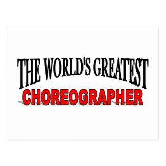 The World's Greatest Choreographer Postcard