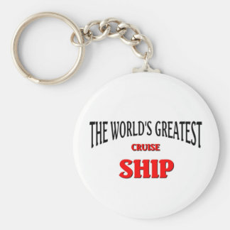 The World's Greatest Cruise Ship Keychain