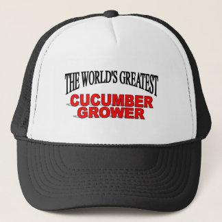 The World's Greatest Cucumber Grower Trucker Hat