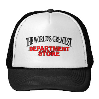 The World's Greatest Department Store Hat