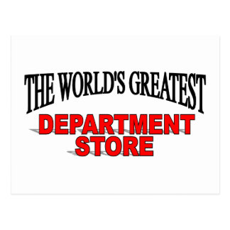 The World's Greatest Department Store Postcard