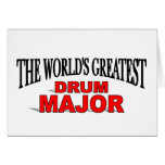 The World's Greatest Drum Major Cards