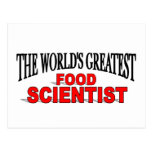 The World's Greatest Food Scientist Post Card