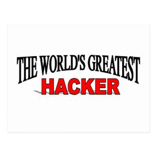 The World's Greatest Hacker Postcard