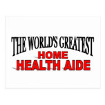 The World's Greatest Home Health Aide Postcards