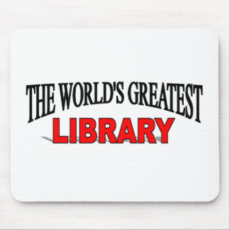 The World's Greatest Library Mouse Pad