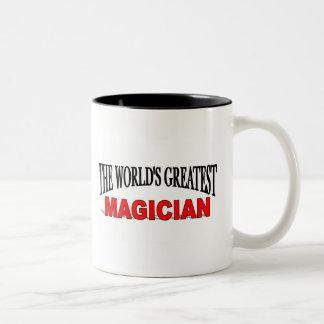 The World's Greatest Magician Two-Tone Coffee Mug