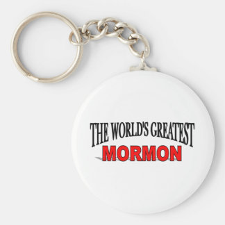 The World's Greatest Mormon Keychain