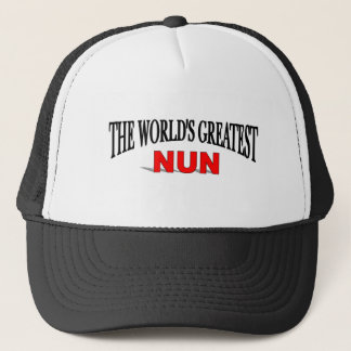 The World's Greatest Nun Trucker Hat