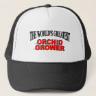 The World's Greatest Orchid Grower Trucker Hat