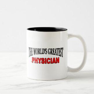 The World's Greatest Physician Two-Tone Coffee Mug