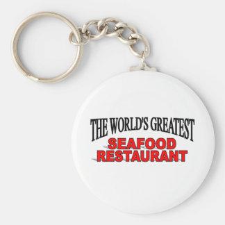 The World's Greatest Seafood Restaurant Keychain