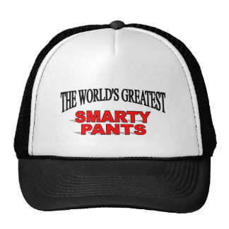 The World's Greatest Smarty Pants Hat
