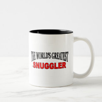 The World's Greatest Snuggler Two-Tone Coffee Mug