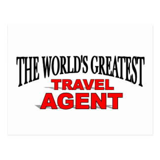 The World's Greatest Travel Agent Postcard