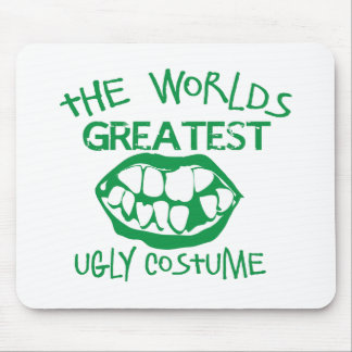 The worlds greatest UGLY costume for Halloween Mousemat
