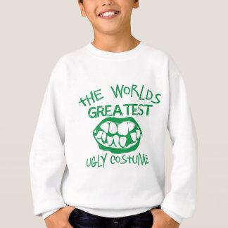 The worlds greatest UGLY costume for Halloween Sweatshirt