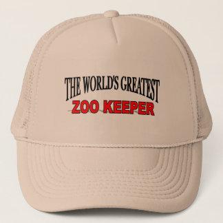 The World's Greatest Zoo Keeper Trucker Hat