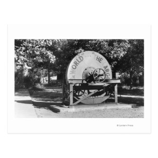 The Worlds Largest Grindstone Buffalo Ranch Postcard