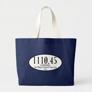 The Worlds Longest Yard Sale Jumbo Tote