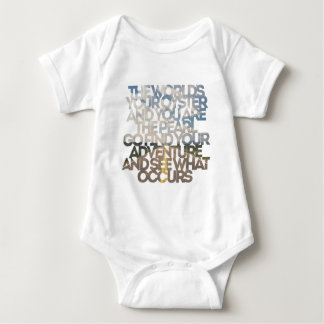 The World's Your Oyster Baby Bodysuit