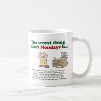 The worst thing about Mondays is... Mug