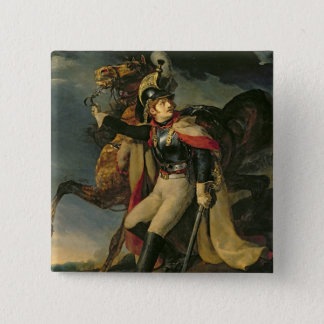 The Wounded Cuirassier, 1814 2 Inch Square Button