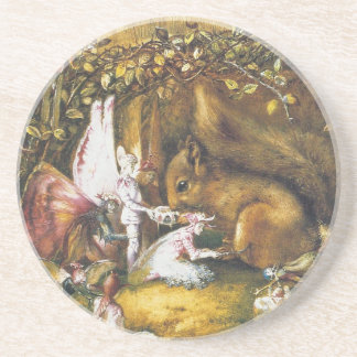 The Wounded Squirrel Coaster