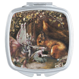 The Wounded Squirrel Compact Mirrors