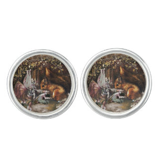 The Wounded Squirrel Cufflinks