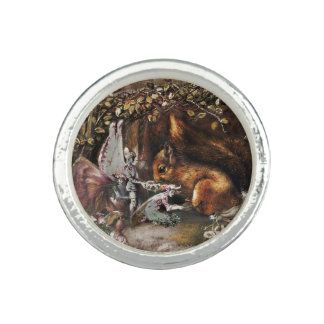 The Wounded Squirrel Photo Rings