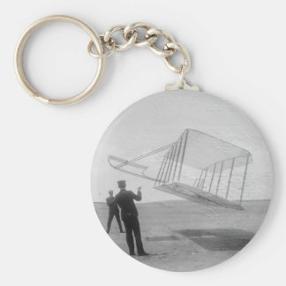The Wright Brothers test flight Keychain