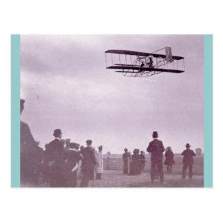 'The Wright Stuff' Wright flyer Postcard