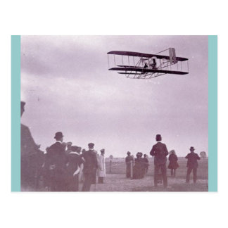 'The Wright Stuff' Wright flyer Postcard