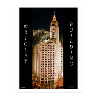 The Wrigley Building II Postcard