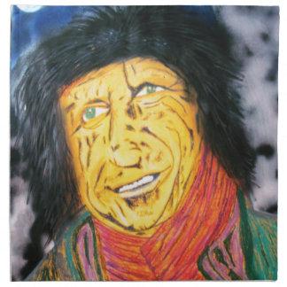 The Wrinkly Rocker Napkin