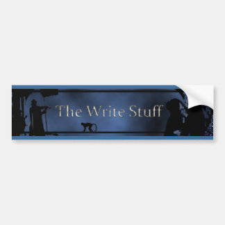 The Write Stuff Bumper Sticker