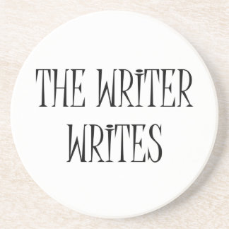 The Writer Writes Coaster
