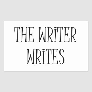 The Writer Writes Sticker