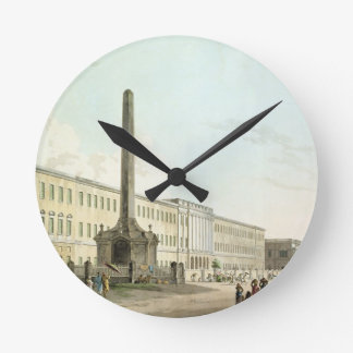 The Writers' Buildings, Calcutta, plate 30 from 'O Wallclocks