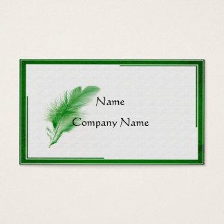 The Written Word Business Card