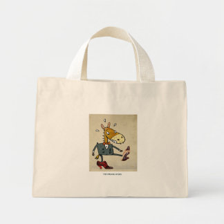 The Wrong Shoes Mini Tote Bag